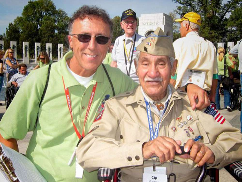 Jeff Miller's Respect For World War II Veterans 'Acquired A Life Of Its Own'