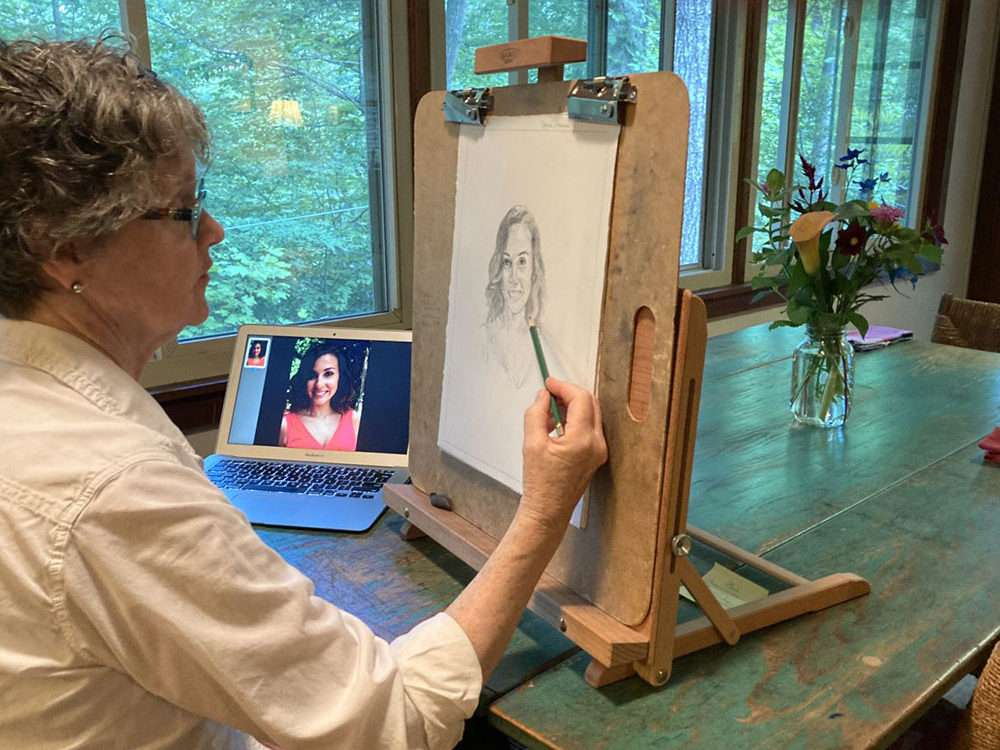 Spirit Of Deceased Son Guides Portrait Artist Theresa Clower's Hand